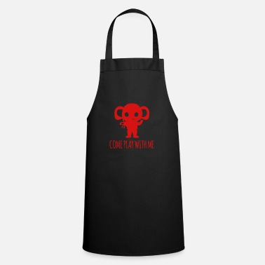 Pachyderm Elephant - Elephant / COME PLAY WITH ME - Apron