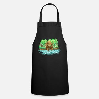 Mystical Bigfoot sighted while fishing - Apron