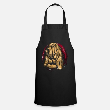 Search Dog Basset Hound Search Dog Gift - Apron