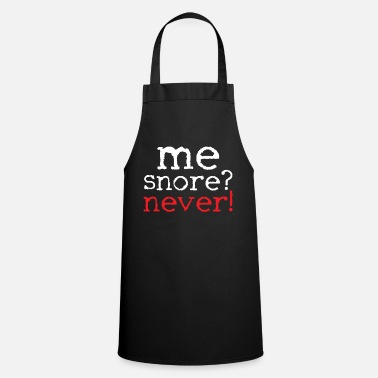 Snore snoring - Apron