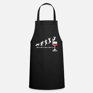 Thursday Wine Week Friday Weekend Cool Wine Gift - Apron