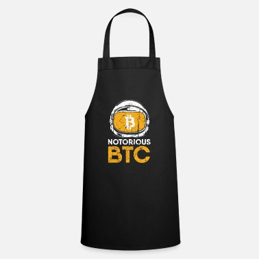 Grand-père Cadeau drôle Bitcoin Crypto JUST Shirt - Tablier