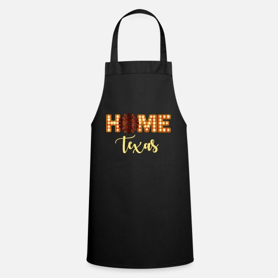 Country Aprons - Home Texas - Apron black