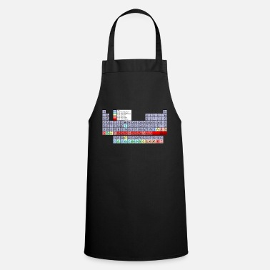Periodic Table periodic table - Cooking Apron