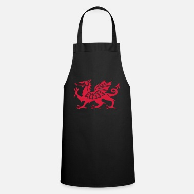 Red Welsh Dragon - Apron