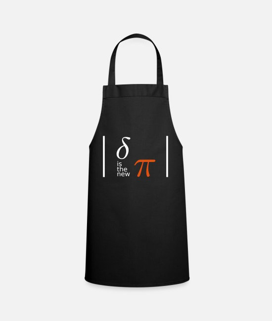 Chaos Aprons - delta is the new pi - chaos theory - geekcontest - Apron black