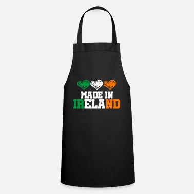 Ireland Made in Ireland Dublin Shamrock Made in gift - Cooking Apron