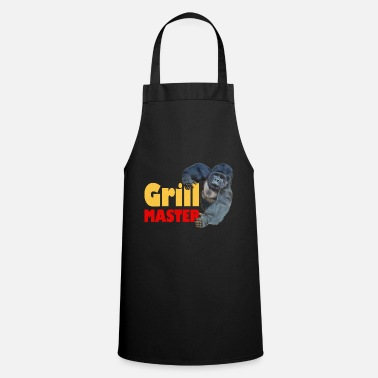 Strong Gorilla Grillmaster Grill Party Summer Ges - Apron