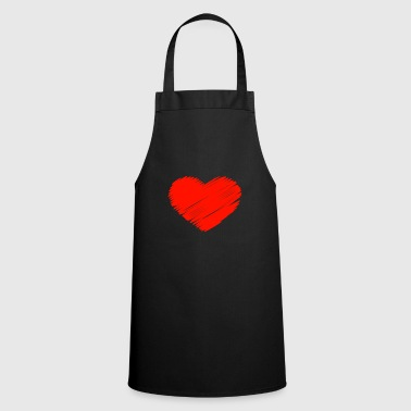 Hen Love heart - Cooking Apron