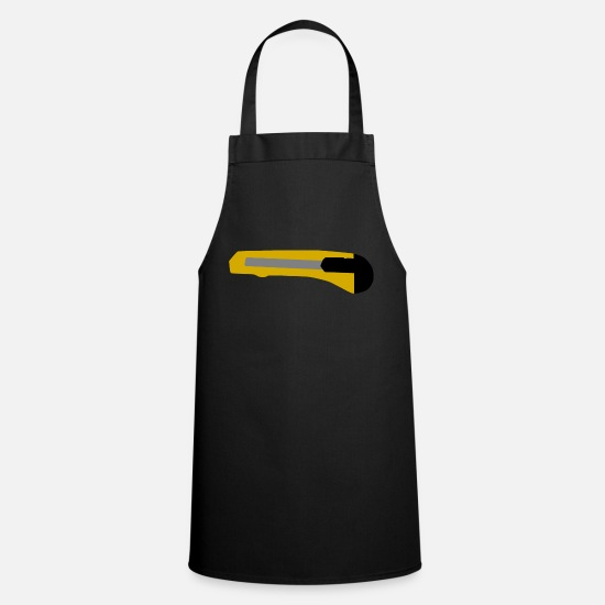 Repair Aprons - Cutter knife - Apron black