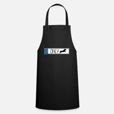 Show Jumping Number plate show jumping - Cooking Apron