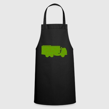 Vehicle garbage truck vehicle truck - Cooking Apron