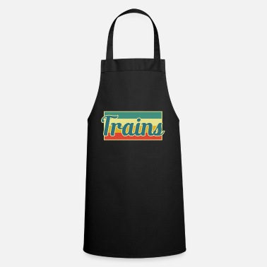 Training Trains - Cooking Apron