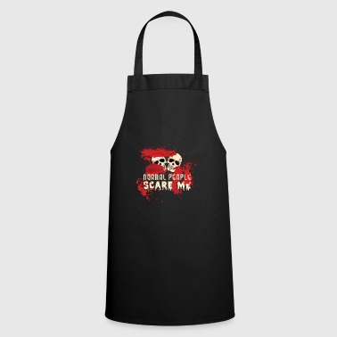 Halloween Skeleton Bloody Skull Gift Dead - Cooking Apron