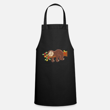 Sayings Sloth - design - Apron