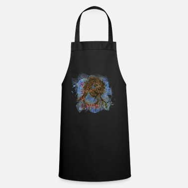Painting Jesus Save Abstract Pop Modern Art - Cooking Apron