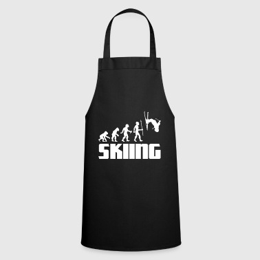 Boarders Evolution skier skiing winter sport snow - Cooking Apron