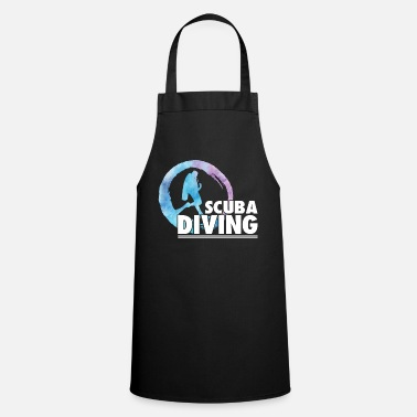 Scuba scuba diving1 - Cooking Apron