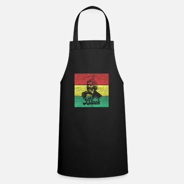 Proud Black African History Month Pride Gift - Apron