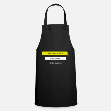 For all flirtatious people the perfect gift - Apron
