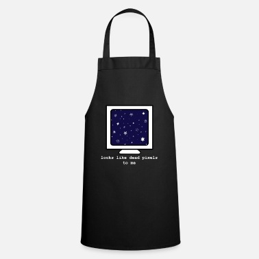 Computer in space - funny computer - Apron