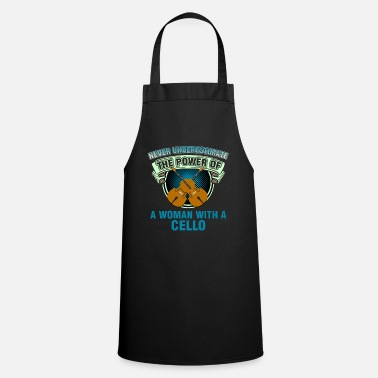 Double Bass Cellist Cello Double Bass Double Bassist Gift - Cooking Apron