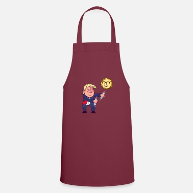 Trump disinfectant and UV treatment - Apron