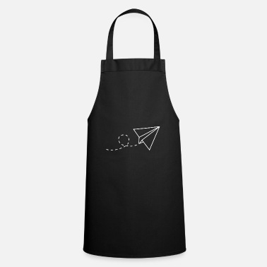 Origami paper airplane - Apron