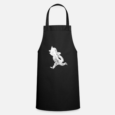 Fire Extinguisher Firefighters extinguish fire Firefighter - Cooking Apron