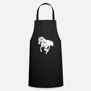 Dressage Horse riding Horsewoman Riding sport - Cooking Apron