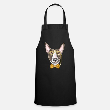 Monocle Dog with monocle - Apron