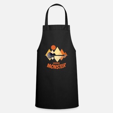 Death Metal Guitar Electric Guitar Shredding Monster Gift - Cooking Apron
