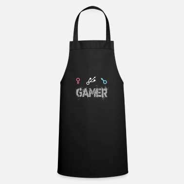 Gamer Unisex Male Female Gamer - Tablier