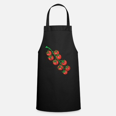 Food Retro vintage grunge style tomatoes - Cooking Apron