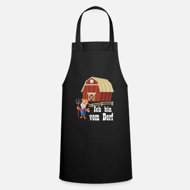 Ja I'm from the village - village child - Cooking Apron