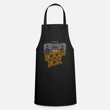 Boom Box Boom Box Music Sounds Beats Bass - Apron