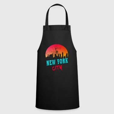 City New York City / New York / USA / Gift - Cooking Apron