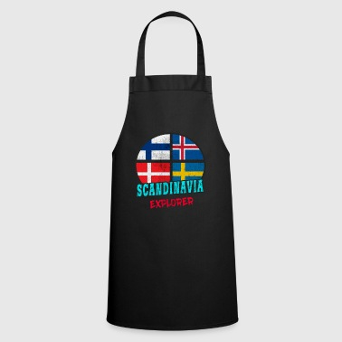 Scandinavie Scandinavie Explorer / Scandinavie / Cadeau - Tablier de cuisine