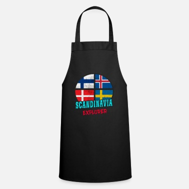 Scandinavia Scandinavia Explorer / Scandinavia / Gift - Cooking Apron