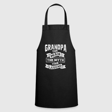 Grandpa The Man The Legend - Cooking Apron
