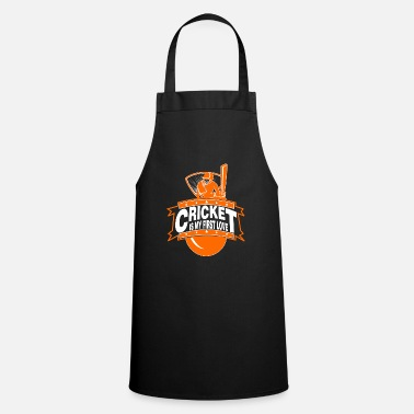 Cricket Apparel Cricket - Cricket is my first love - Apron