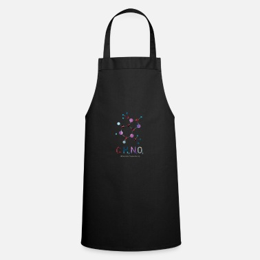chocolate chemistry colorful - Apron