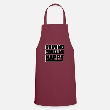 Game Gaming makes me happy - Apron