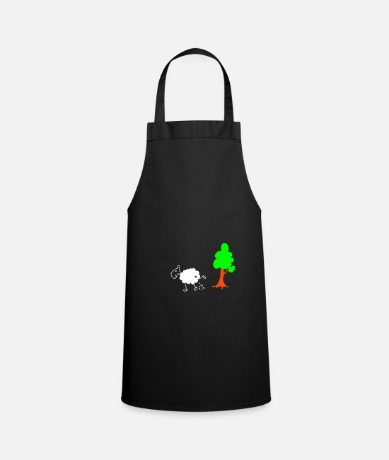Nature Aprons - Schwarzes Schaf Pisser / Sheep in wolf's clothing - Apron black
