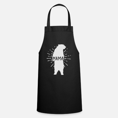 Day Mama Bear Mothers Day - Mother 's Day - Apron