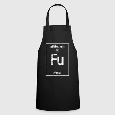 Vintage Vintage Fu Chemistry Element - Cooking Apron