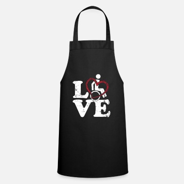 Wheelchair Wheelchair love - Cooking Apron