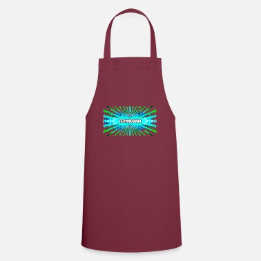 Jumpstyle Technobabe bluegreen - Apron