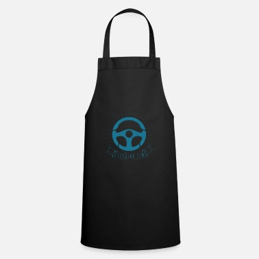 Motor Race Steering Wheel Car Sports Car Turbo Tuning Gift - Cooking Apron