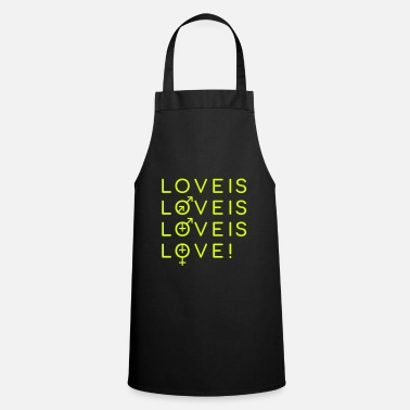 Proud To Be Gay Gay Love Matters - Apron